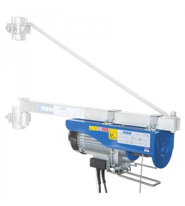 Paranco elettrico monofase Fervi 0600 200/400Kg 0,75 kW