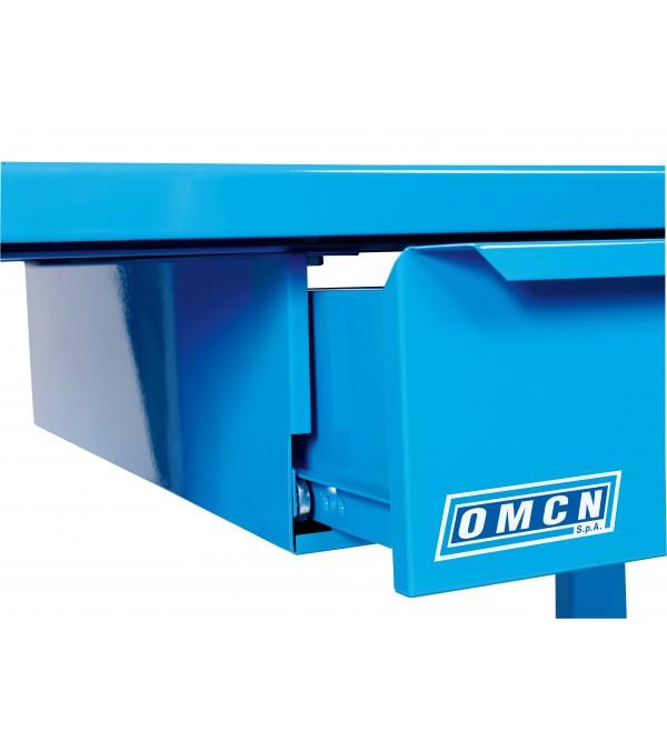 Banco da lavoro OMCN 1004 blu 2 metri 3 cassetti