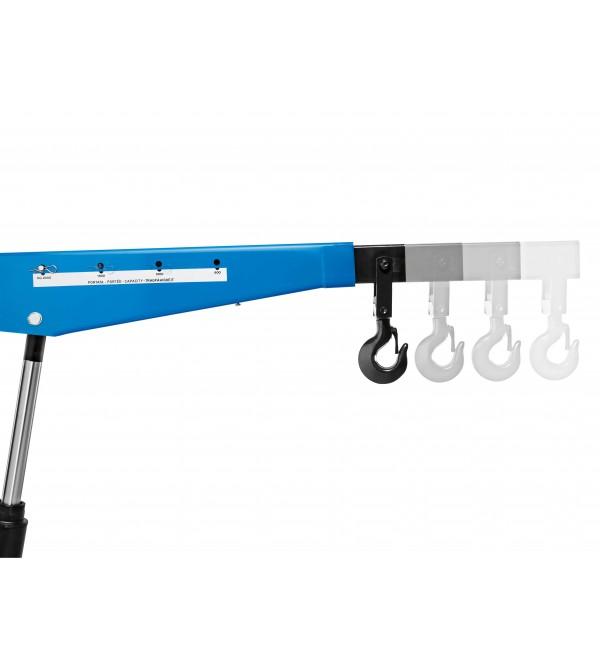 Gru Idraulica a carrello 2 Ton. braccio allungabile Omcn 138