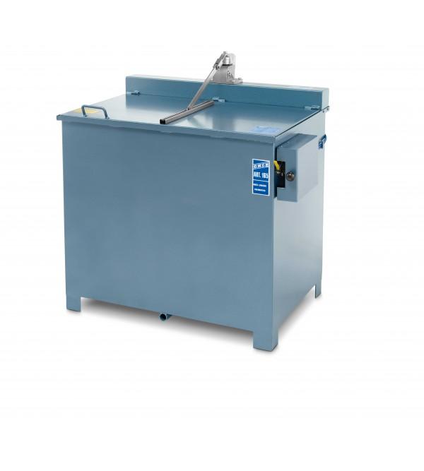 Vasca lavapezzi pneumatica 150Kg Omcn 165