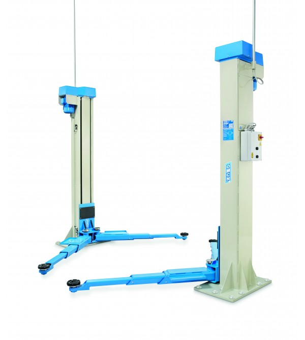 Ponte sollevatore elettroidraulico 2 colonne 5,5 t...