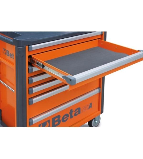 Carrello Porta Utensili 6 cassetti Arancione Vuoto Beta C37/6