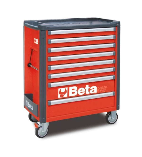 Carrello Porta Utensili 8 cassetti Rosso Vuoto Beta C37/8