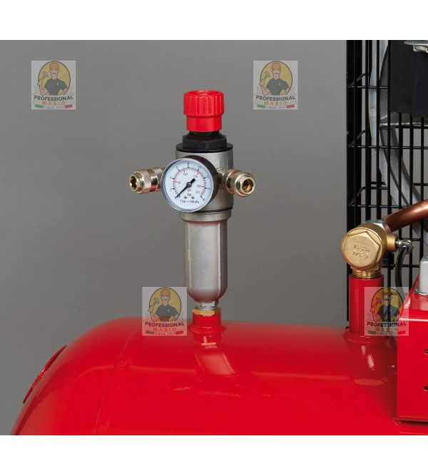 Compressore a cinghia bistadio 270 Litri - 7,5 Hp Trifase Fini BK119270-7.5