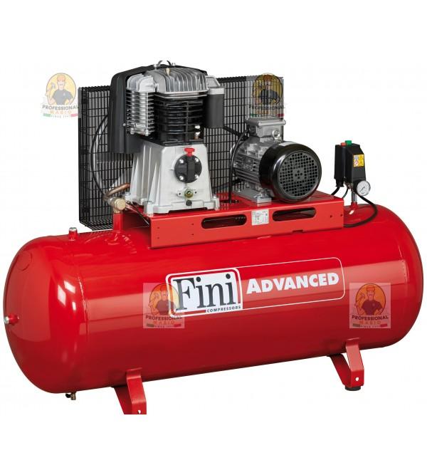 Compressore a cinghia bistadio 500 Litri - 7,5 Hp ...