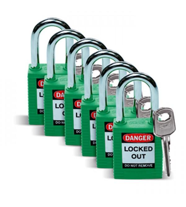 Lucchetti di sicurezza BRADY 051345 - n.ro 6 pezzi...