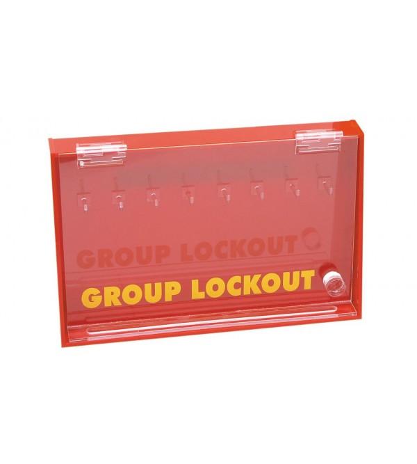 KEYBOX CON 8 GANCI BRADY 800116