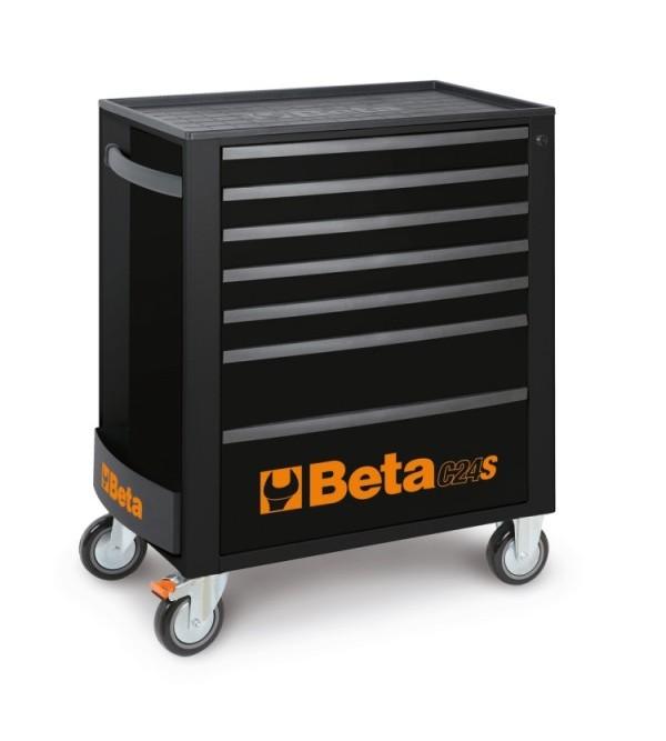 Carrello Porta Utensili 7 cassetti Nero Vuoto Beta C24/S