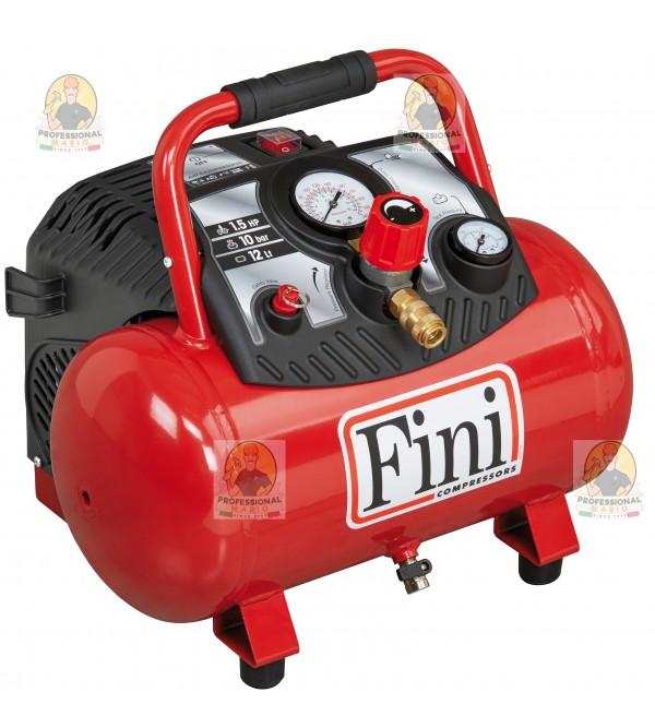 Compressore coassiale portatile - 12 Litri - 1,5 H...