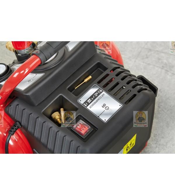 Compressore coassiale portatile - 12 Litri - 1,5 Hp Monofase Fini Energy12