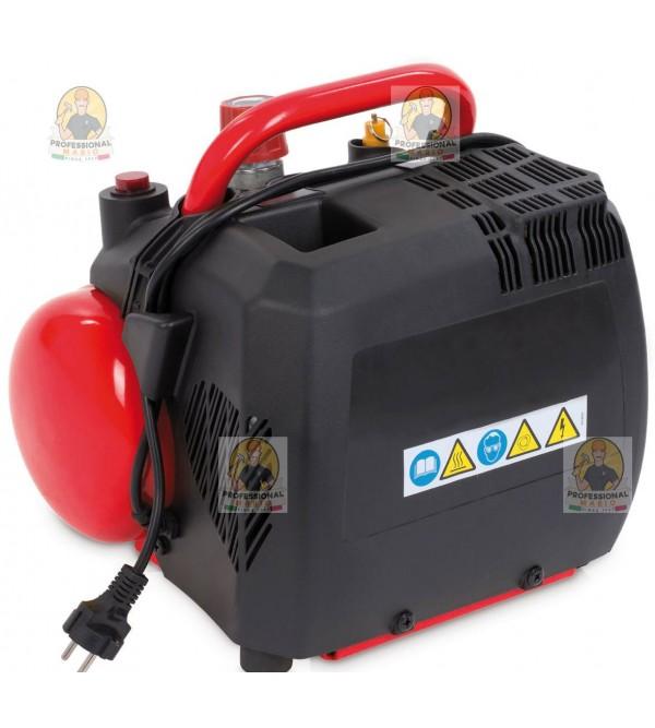 Compressore coassiale portatile - 6 Litri - 1,5 Hp Monofase Fini Energy6