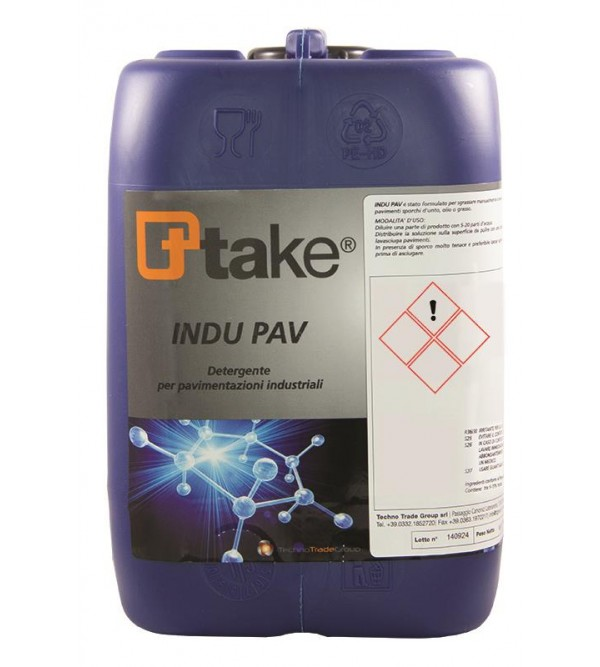 Detergente concentrato per Pavimenti Ttake InduPav...