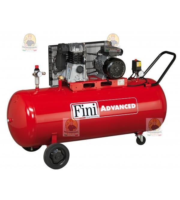Compressore a cinghia 200 lt monostadio 3 HP Monof...