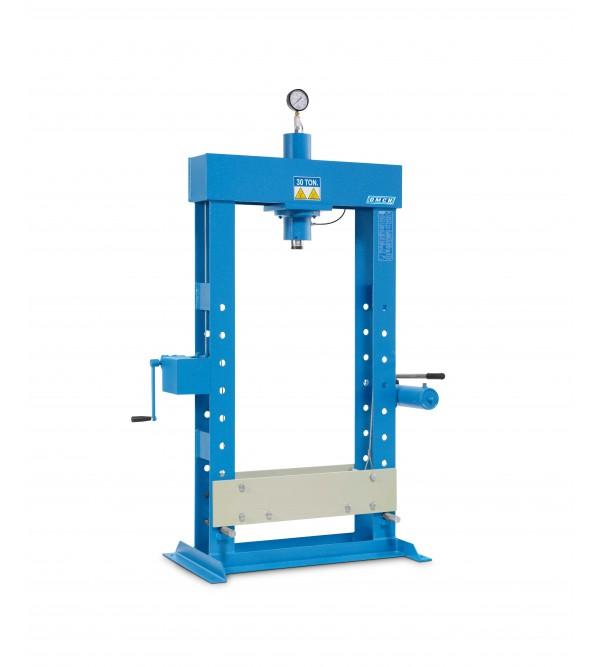 Pressa Idraulica Con Pompa A Mano 30 Ton. Omcn P30/SA