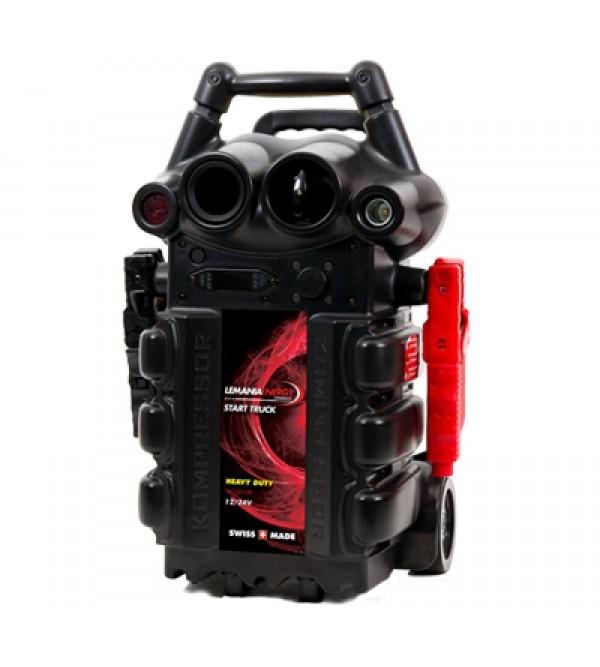 Booster avviatore 12/24V - 7200/3600A di spunto Le...