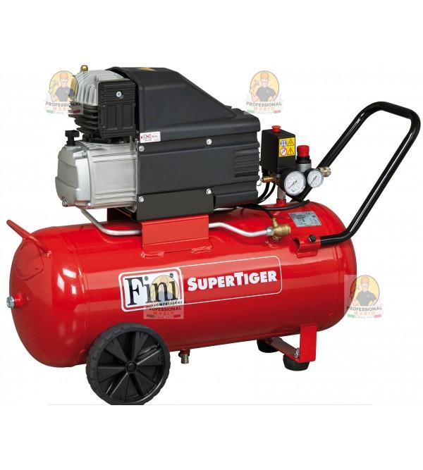 Compressore coassiale 50 Litri - 2 Hp Monofase Fini SupeTiger 265M