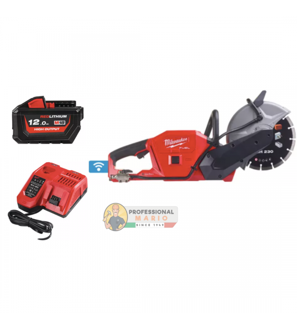 Troncatrice 230mm a batteria Milwaukee M18 FCOS230-12