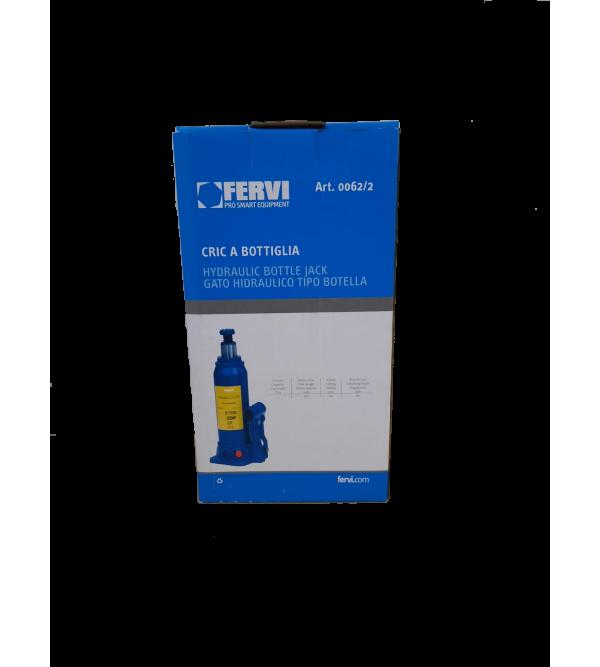Cric a bottiglia 2 tonnellate Fervi 0062/2