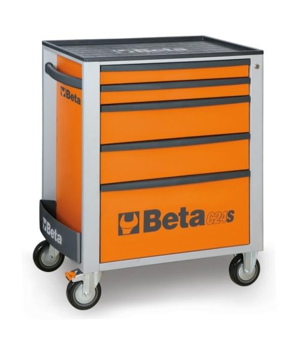 Carrello portautensili 5 cassetti Arancione Vuoto ...