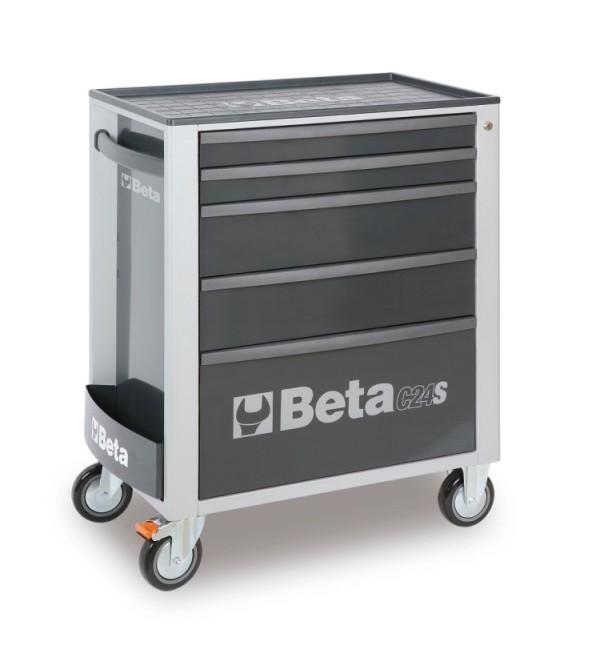 Carrello portautensili 5 cassetti grigio Vuoto Beta c24