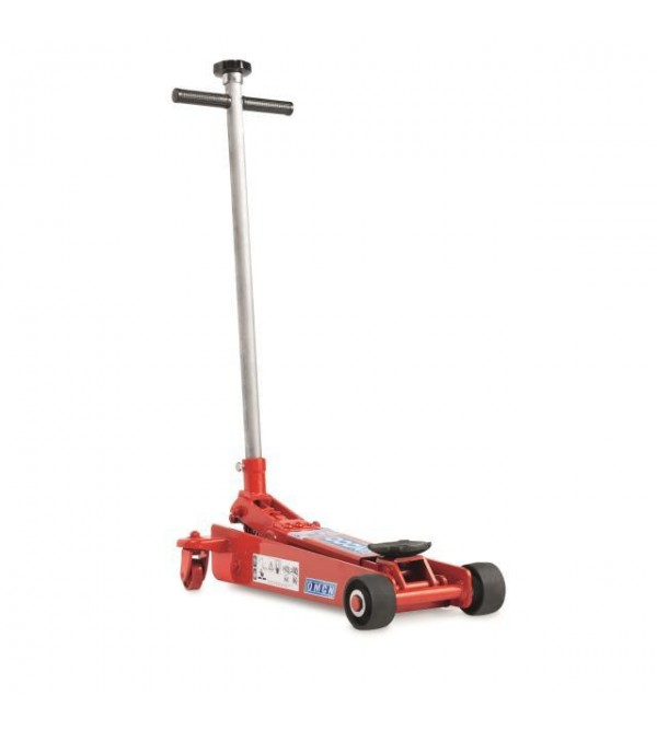 Cric sollevatore idraulico a carrello 1,5 ton. Omc...