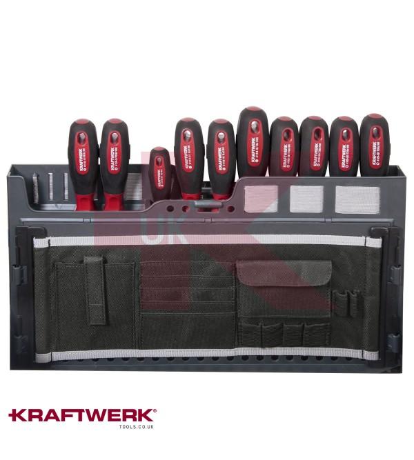 Valigia Kraftwerkprofessionale per l'assistenza tecnica, 153 pezzi