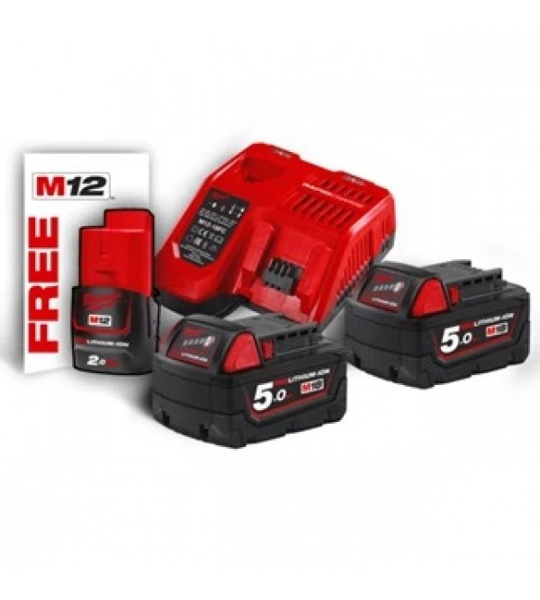 Kit energy pack M18 5.0 ah  Milwaukee