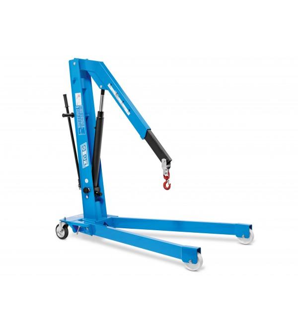 Gru Idraulica a carrello 0,5 Ton. Pieghevole con Braccio allungabile Omcn GP05/DE